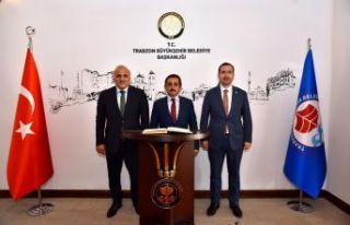 Bakan Yardımcısı Aksu'dan Başkan Zorluoğlu'na...