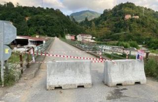 Ballıca Köprüsü ulaşıma kapatıldı