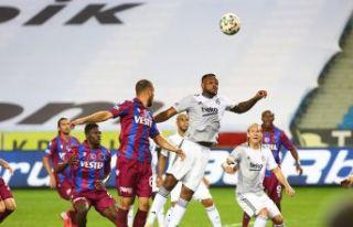 Trabzonspor açılış maçında Beşiktaş'a mağlup...