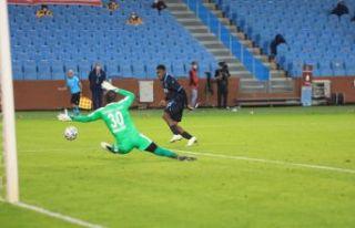 Trabzonspor Sivas önünde üstünlüğünü koruyamadı