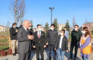 """Trabzon """"Spor"""" temalı millet bahçesine..."""