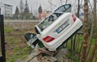 AK Parti ilçe başkanları kaza geçirdi
