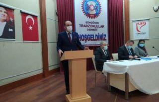 Güngören Trabzonlular Derneği'nde Yılmaz yeniden...