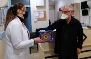 Of Devlet Hastanesi 14 Mart Tıp Bayramını kutladı