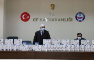 Of Milli Eğitimden Başkan Zorluoğlu'na tablet...