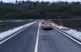 Ballıca'nın yeni köprüsü ulaşıma açıldı