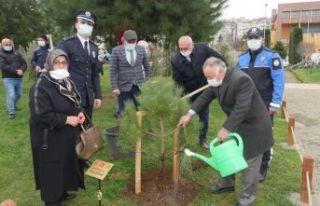 Büyükşehirden Şehit Polisler için Hatıra Ormanı