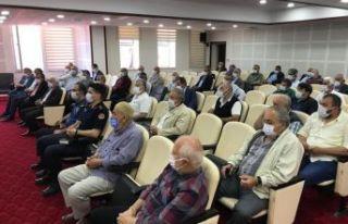 Mayıs Ayı Muhtarlar toplantısı yapıldı