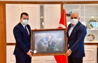 Sağlık Müdürü Usta'dan Zorluoğlu'na anlamlı...