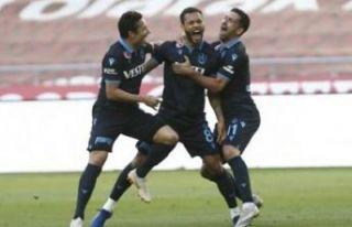 Trabzonspor Konya deplasmanında da 1 puana razı...