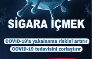 Sağlık Müdürlüğünden sigara bırakma kampanyası