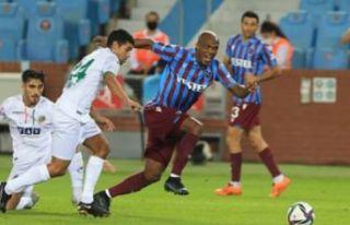 Trabzonspor Alanyaspor ile berabere...