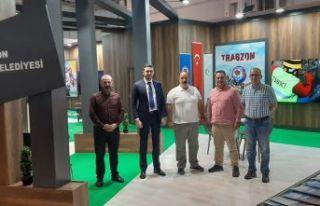 Gaziantep'deki EXPOBEL'e büyükşehirden 3 stand
