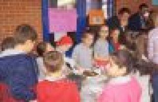 28 Şubat İlkokulu öğrencilerinden LÖSEV'e destek