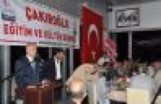 Bakan Bayraktar Çakıroğlu Derneği'nin iftarına...