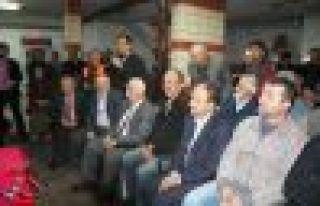 Başkan Gümrükçüoğlu Dernekpazarılılarla buluştu...
