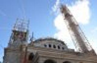 Başkan Sarıalioğlu İrfanlı Büyük Camii inşaatını...