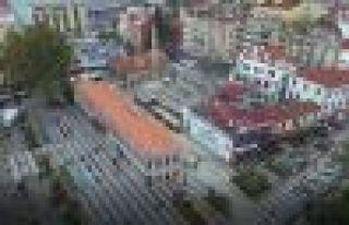 Büyükşehir Belediyesi, Trabzon'un balkonunu inşa...