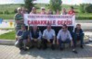 Cumapazarlılar Çanakkale'yi gezdi