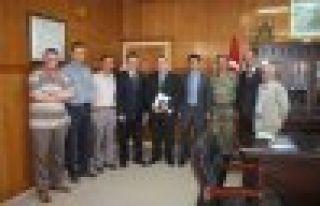 Dernekpazarı'nda Güvenlik Toplantısı yapıldı