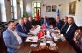 Doğu Karadeniz Belediyeler Birliği Encümeni toplandı