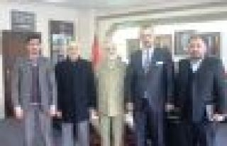 İran Başkonsolos'u Başkan Saral'ı ziyaret...