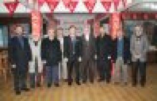 Kaymakam Fırat'tan Saadet Partisi'ne iade-i ziyaret