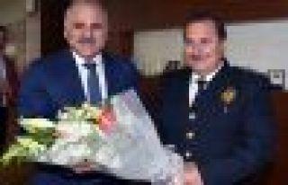 Müdür Çevik'ten Başkan Zorluoğlu'na ziyaret