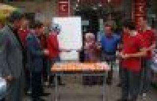 Of Anadolu Öğretmen Lisesi öğrencilerinden çevre...