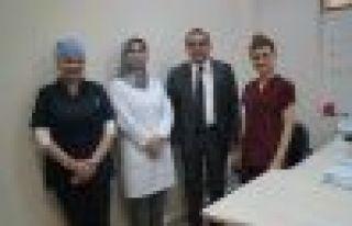 Of Devlet Hastanesinde Diyabet Polikliniği açıldı