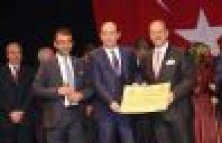 Of Mardin Köprüsü projesinde Ayhan Aydın'a ödül...