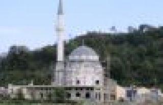 Of Sanayi Sitesi Camiinin dışı tamamlandı