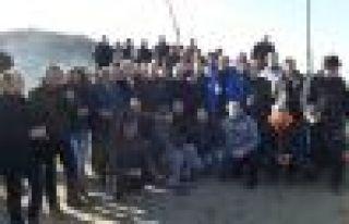 Olta balıkçıları Arsin'de bir araya geldi