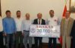 Trabzon'dan ARAKAN için 30 Bin TL yardım