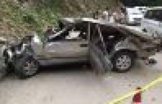 Gürpınarlı Tural ailesi Yente'de kaza yaptı;...