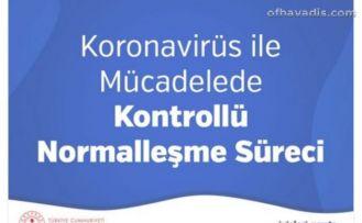 İçişleri Bakanlığı'ndan yeni normalleşme genelgesi