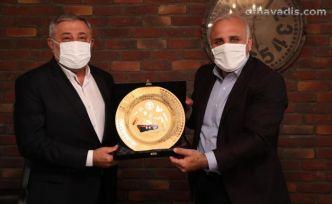 Başkan Zorluoğlu'ndan TDF'ye ziyaret