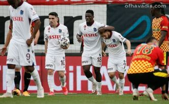Trabzonspor yenilgiyi unuttu