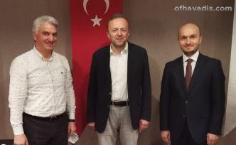 BİK Genel Müdürü Duran Trabzon'da gazete temsilcileriyle buluştu