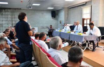 Başkan Zorluoğlu Hayrat'ta esnaf ve vatandaşlarla buluştu