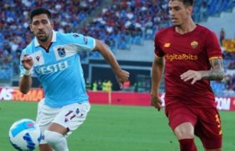 Trabzonspor Roma'ya yenildi ve Avrupa'ya veda etti
