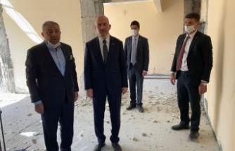 Bakan Soylu Trabzon Evi'nde incelemelerde bulundu
