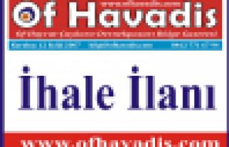 Of H. Bahattin Ulusoy Teknik ve Endüstri Meslek Lisesi onarımı ihalesi