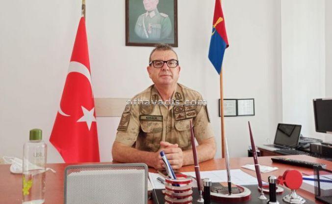 Dernekpazarı Jandarma Komutanlığına Karaca atandı