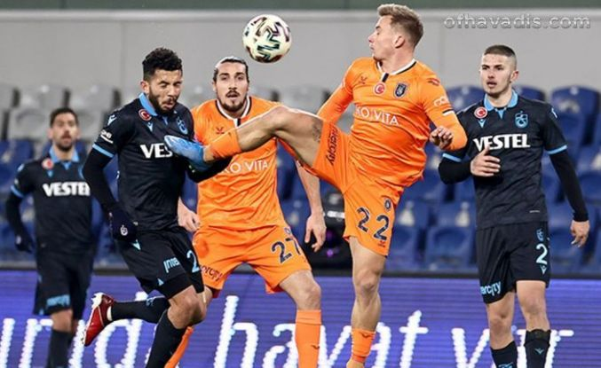 Yusuf Sarı attı Trabzonspor Başakşehir'i de seriye ekledi