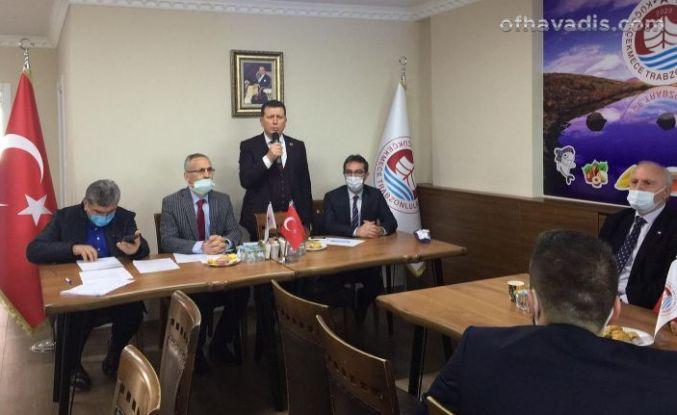Küçükçekmece Trabzonlular Başkan Kaba İle devam dedi