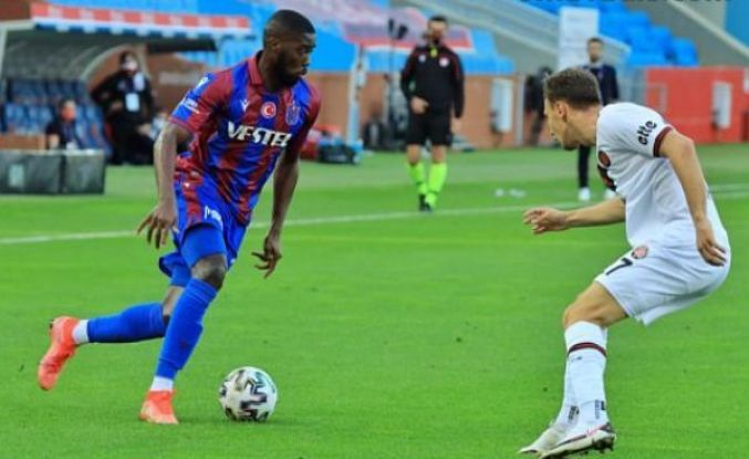 Trabzonspor 5 hafta sonra Djaniny ile galip