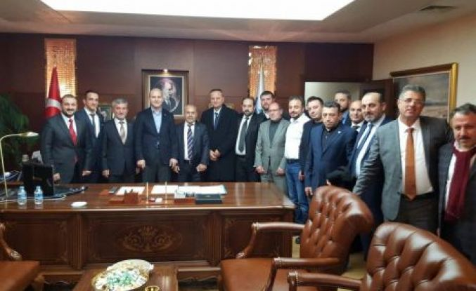 Trabzon ASKON'dan Soylu'ya ziyaret