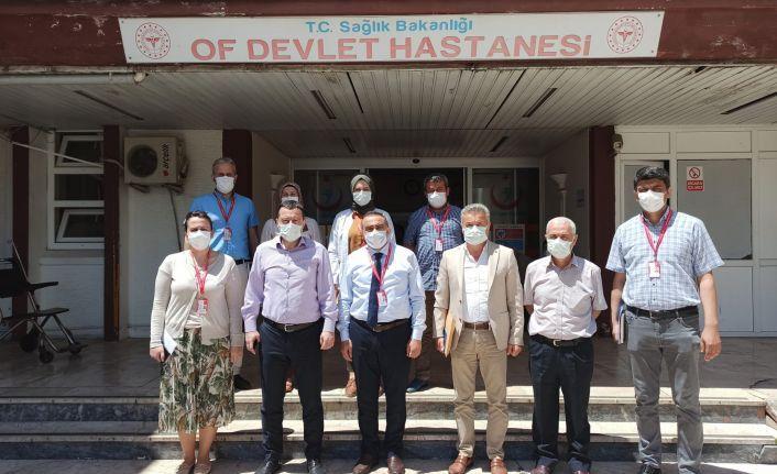 İl Sağlık Müdürü Usta'dan yeni hastaneye ziyaret