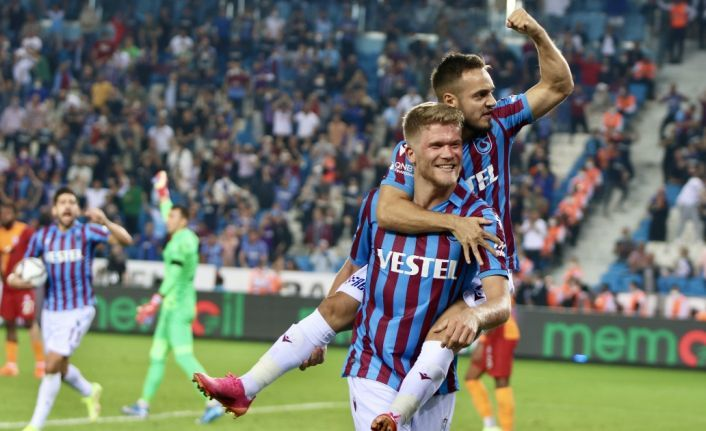 Trabzonspor Galatasaray'la yenişemedi